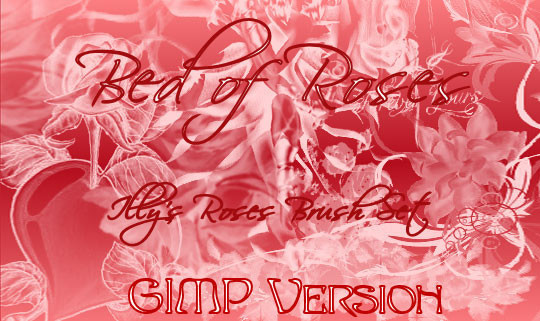 GIMP Bed of Roses