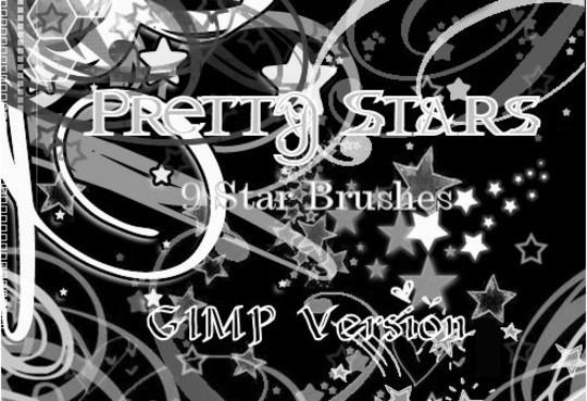 GIMP Pretty Stars