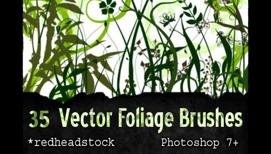 GIMP Vector Foliage-Plants