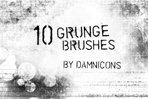 Grunge brush set 3