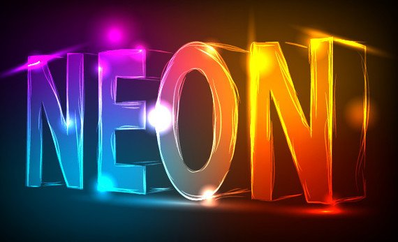 How to Create a Neon Text Effect