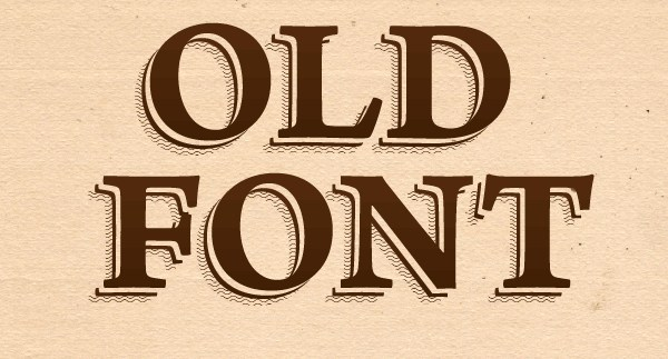 How to Create an Old Font Text Effect in Adobe Illustrator