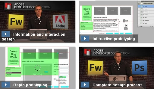 Interaction design and rapid prototyping with Fireworks