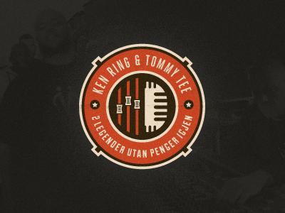 Ken Ring & Tommy Tee Final Logo Emblem