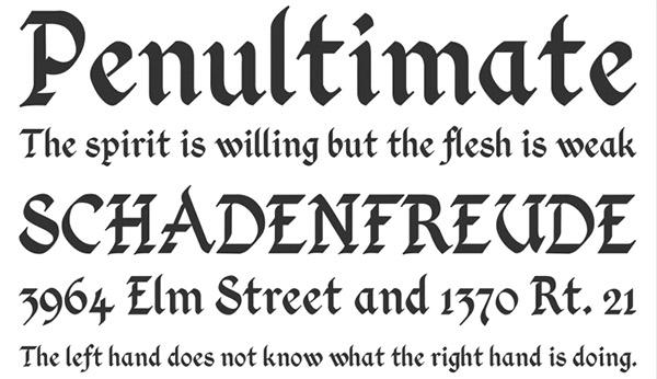 Kingthings Calligraphica