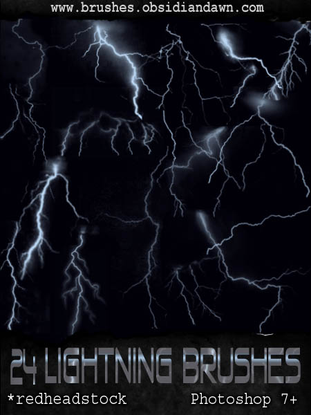 Lightning Brushes by Project-GimpBC