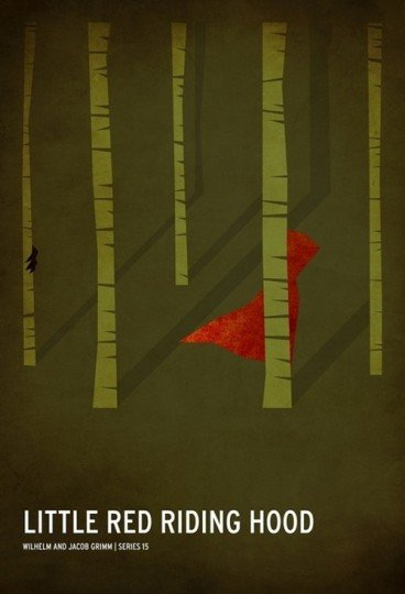 Little Red Riding Hood poster by Christian Jackson