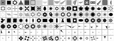 Many Photoshop Custom Shapes