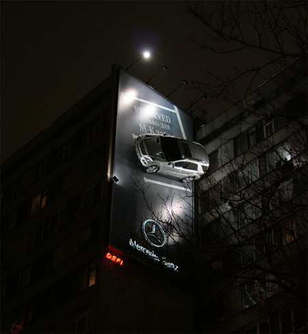 Mercedes Advertisement
