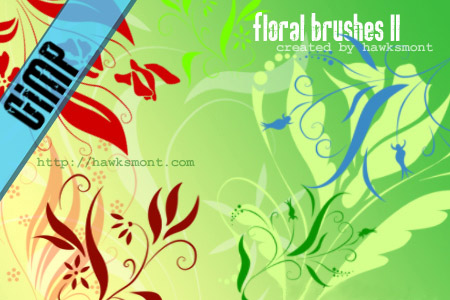 More Floral Brushes from Hawksmont
