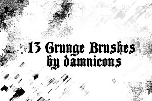 More grunge brushes