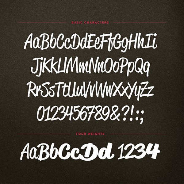 Reklame Script by HVD Fonts