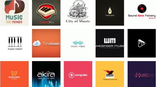 50 Most Inspiring and Artistic Music Logos to Swing your Mood