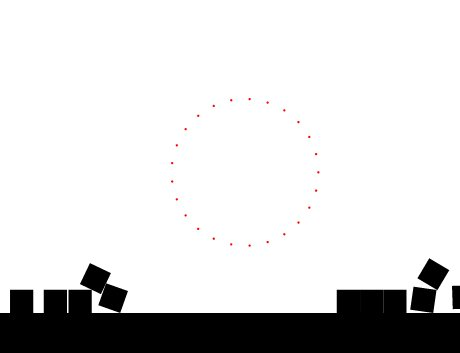 Shattering Box Physics Simulation