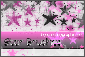 Star Brushes by Dreamy Graphics