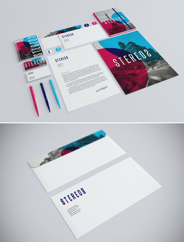 Stationery Branding Mock-Up by infostyle.itembridge