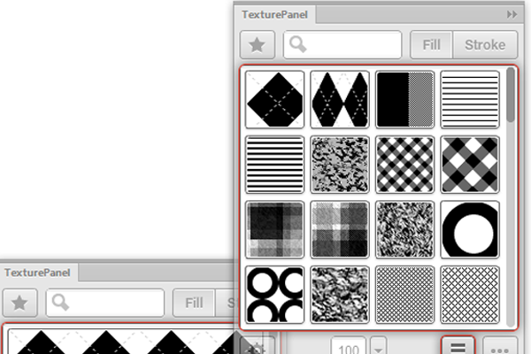 Texture Panel In Adobe Fireworks