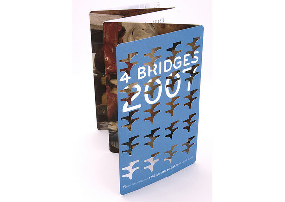 4 Bridges Art Festival Patron Brochure