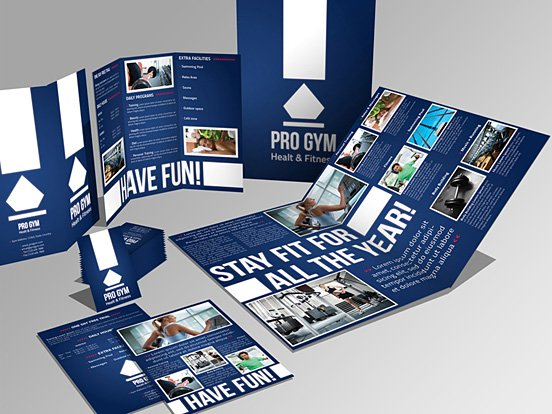4 Pages Brochure + Trifold