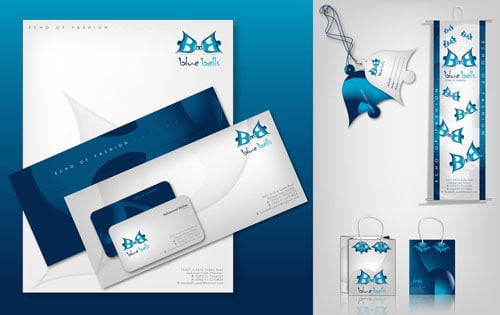 Blue Bells logo and products
