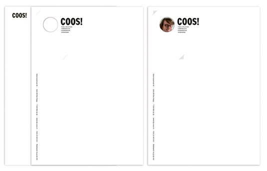 coos - Letterhead Design Ideas