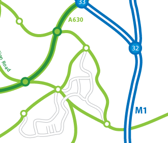 Creating Road Maps in Adobe Illustrator>