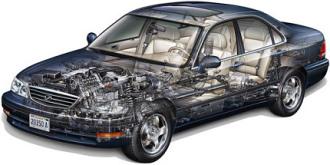 Cutaway Car Illustration Tutorial