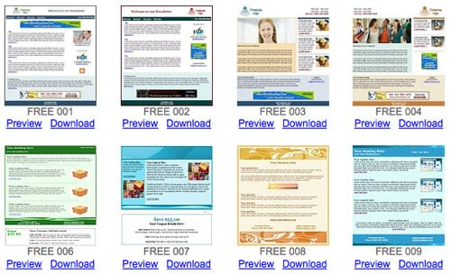 Delivery Success – 10 Free Newsletter Templates