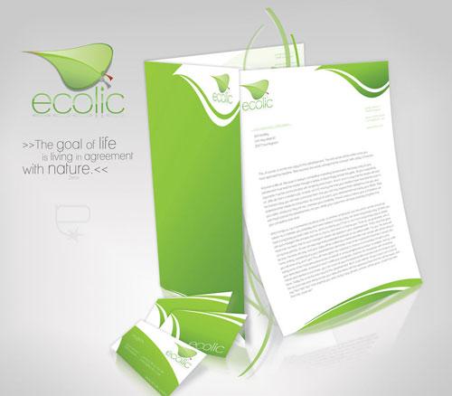 Ecolic corporate identity