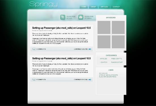 Encoding a Photoshop Mockup into XHTML & CSS