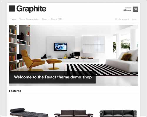 Graphite Shopify Theme (FREE)