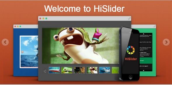 HiSlider - HTML5, jQuery & WordPress Image Slider Gallery