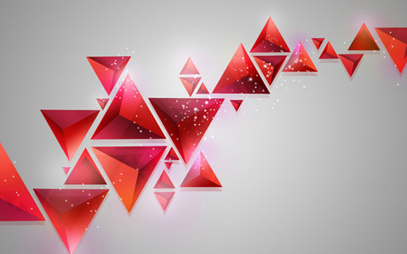 How to Create Contemporary Abstract Background of Geometric Shapes