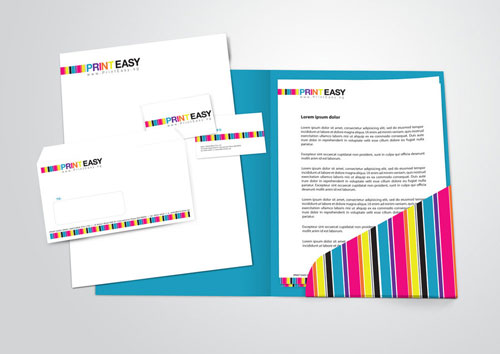 Print Easy Stationery Set