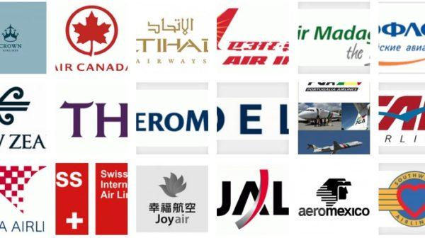 50 Impressive Airline Logos