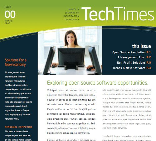 Stock Layouts – TechTimes theme