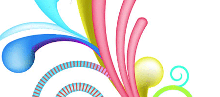 Swirl Mania in Illustrator and Photoshop