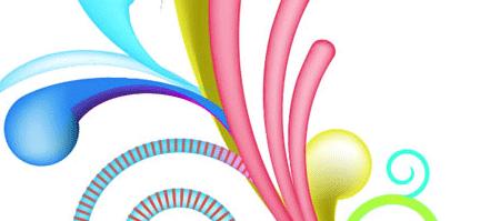 Swirl Mania in Illustrator and Photoshop