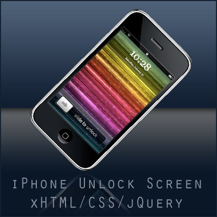 The iPhone unlock screen in xHTML, CSS and jQuery