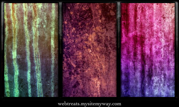 Vibrant Grunge Textures