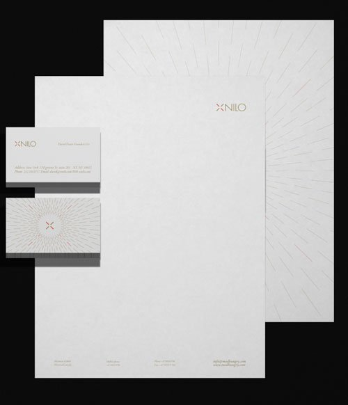 Xnilo Design Studio Visual Id
