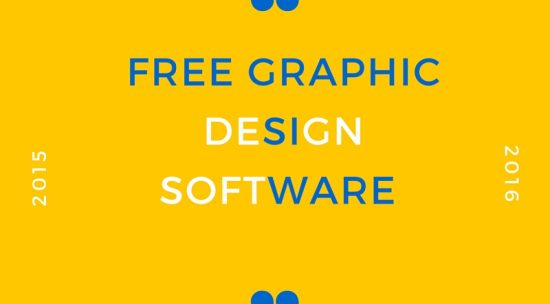 Best Free Graphic Design Software 2016