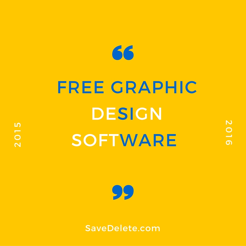 Web Design Software Best: Top 10 Best Free Graphic Design Software In 2016