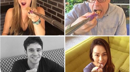 This is Selfie Spoon; Now you can take a Selfie while eating food