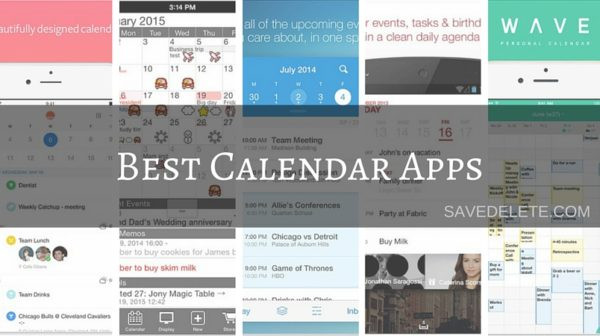 5 Of The Best Calendar Apps for your Mobile (iOS + Android)