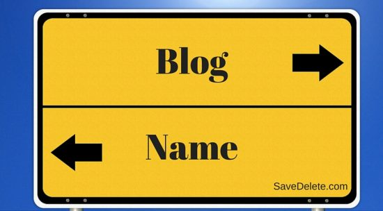 How to Decide Name of Your New Blog
