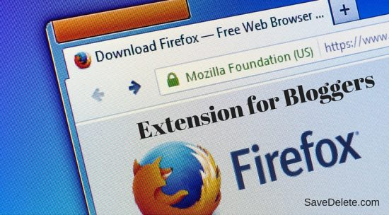 19 Useful Firefox Extensions for Bloggers