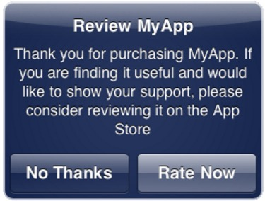 """Review Us"" In-app Popups"