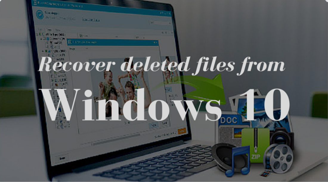 How to Recover deleted files from Windows 10 ?