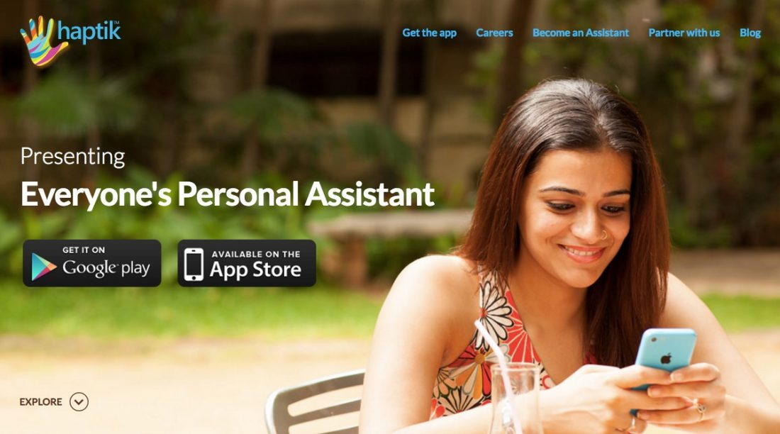Haptik Personal Assistant App for Complete Convenience